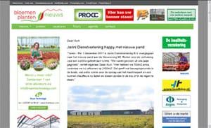 Jarini Dienstverlening verhuist naar nieuw pand in Honselersdijk